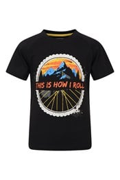 How I Roll Kids Organic Cotton T-Shirt