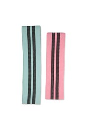 Fabric Resistance Bands - 2 Pack