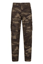 Lakeside Camo Mens Cargo Trousers - Regular Length