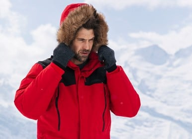 manteau d'hiver homme black friday