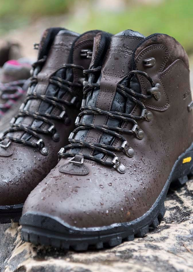 walking boots or shoes