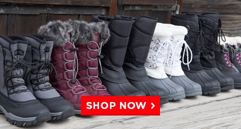 P2: Snow  Boots from $17.99 - These boots will keep your feet warm, dry and comfortable