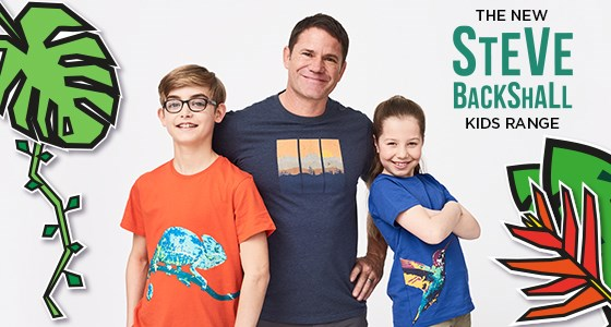 B2: The New Steve Backshall Kids Range