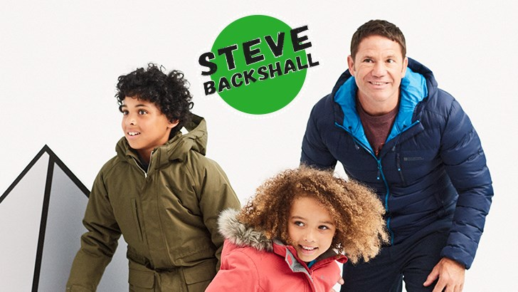 The Steve Backshall Kids Winter Range is Here!