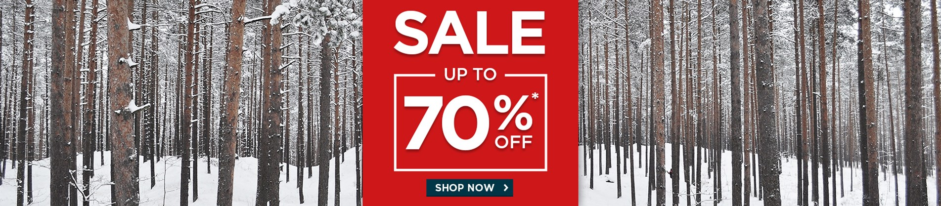 Sale - Up To 70% Off*