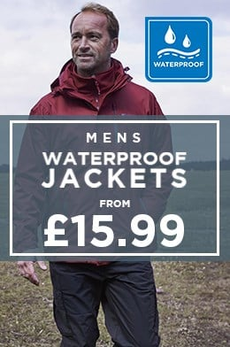 Mens Waterproof Jackets From £15.99