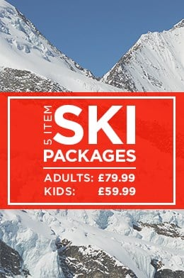 5 Item Ski Packages