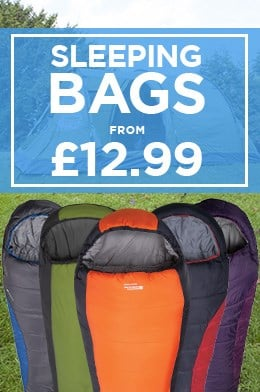 Sleeping Bags From £12.99