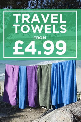Travel Towels From £4.99