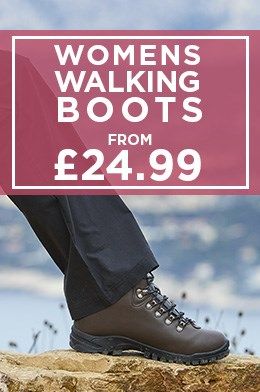 Womens Walking Boots From £24.99