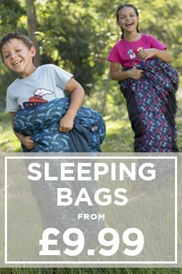 Sleeping Bags from £9.99