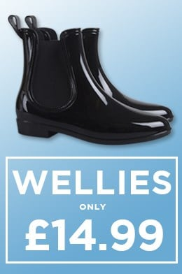 Wellies only £14.99