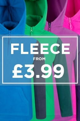 Fleece from £3.99