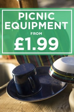 Picnic Equipment from £1.99