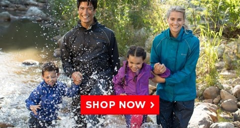 Waterproof jackets from £11.99