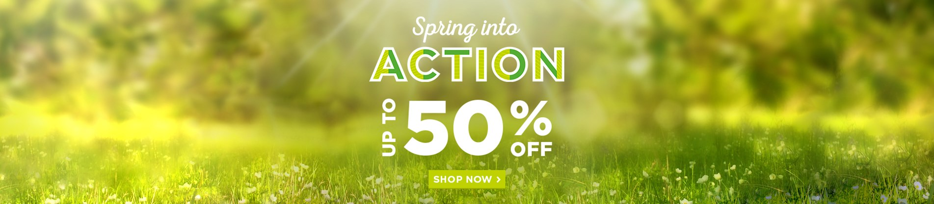 Spring Essentials - Up To 50% Off