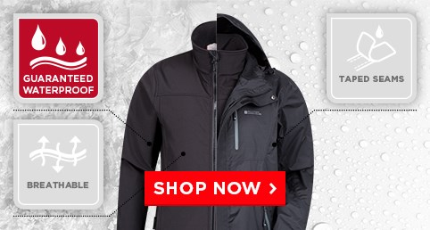 3-in-1 Jackets From $39.99 - perfect for changeable weather