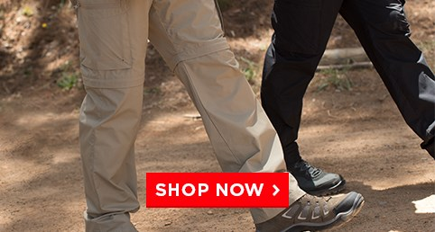 Trek Pants From $12.99 - lightweight & quick drying