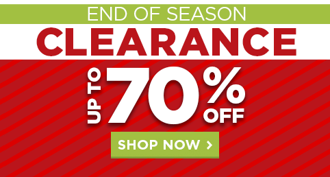 P2: END OF SEASON CLEARANCE