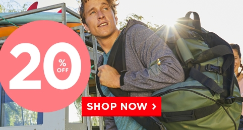 P1: Extra 20% off Bags