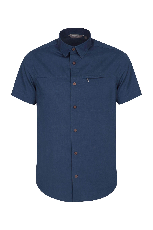 Chemise à manches courtes Hommes Coconut - Bleu Marine