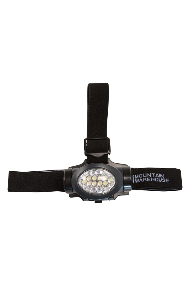 Head Torch 10 LED - Grey