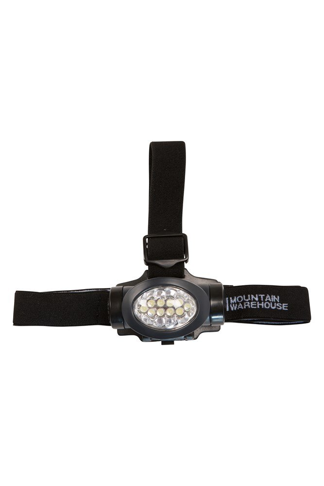 9 LED Bright Small Compact Torch with Wrist Strap