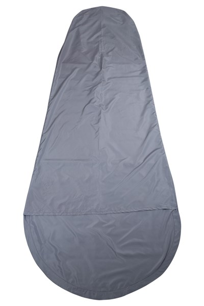 Microfibre Mummy Sleeping Bag Liner - Grey