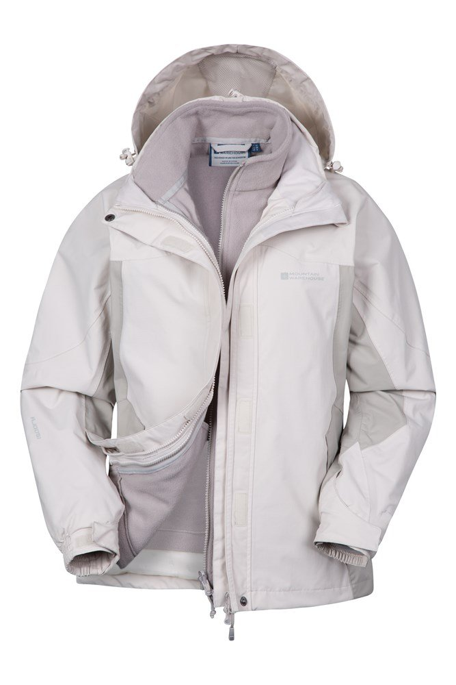 Storm 3 in 1 Womens Waterproof Jacket | Mountain Warehouse GB
