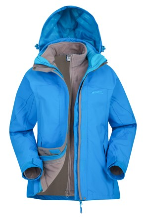 Storm Womens Waterproof 3 in 1 Jacket