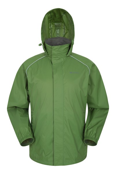 Pakka Mens Waterproof Jacket - Green