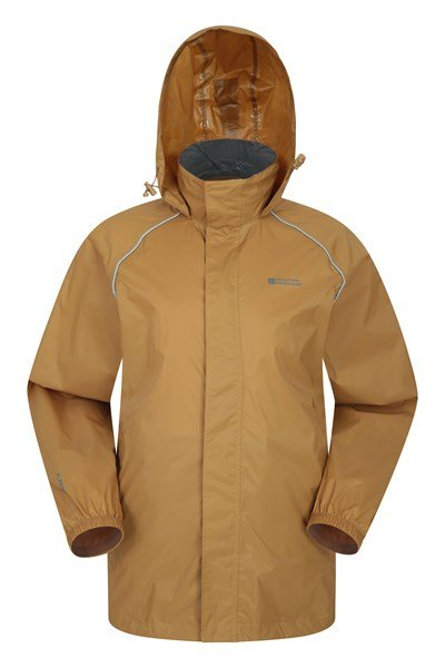 Pakka Mens Waterproof Jacket - Yellow