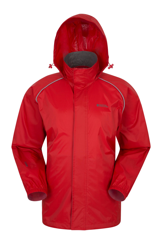 Pakka Mens Waterproof Jacket - Red