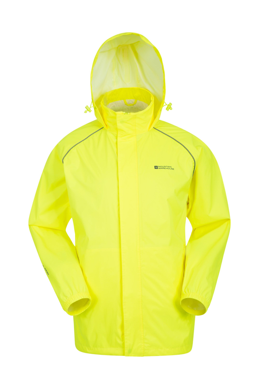 Pakka Mens Waterproof Jacket - Yellow