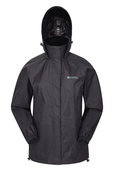 Pakka Womens Waterproof Jacket - Black