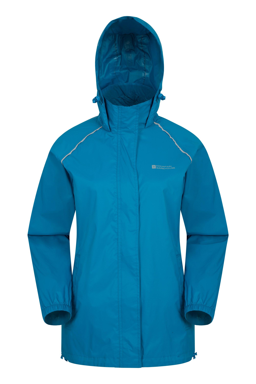 Pakka Womens Waterproof Jacket - Teal
