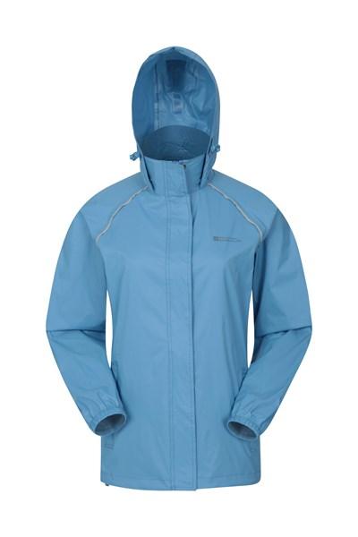 Pakka Womens Waterproof Jacket - Blue