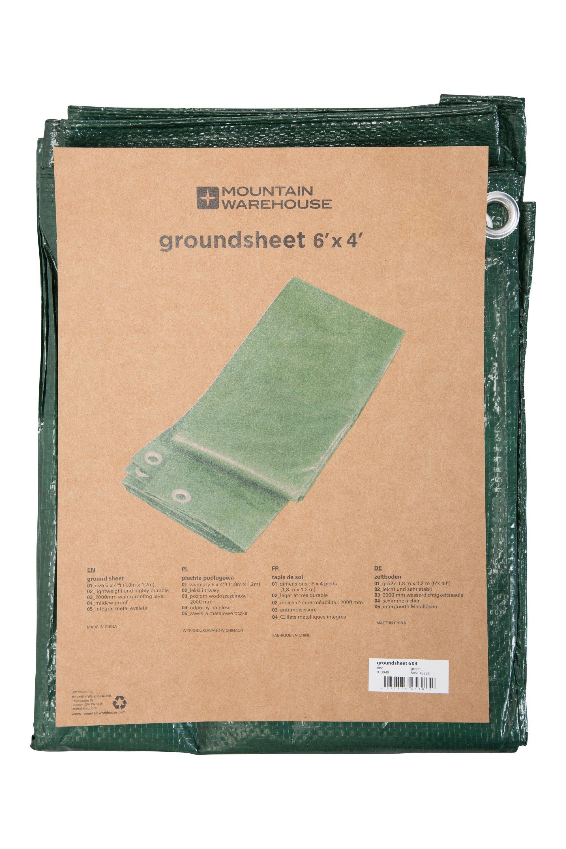 Groundsheet - 1.8 x 1.2m - Green