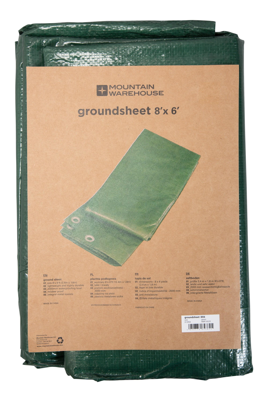 Groundsheet - 2.4 x1.8m - Green