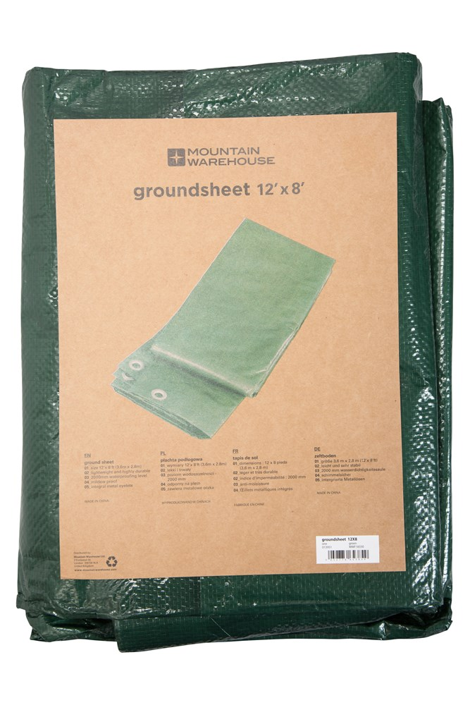 Groundsheet - 3.6 x 2. - Green
