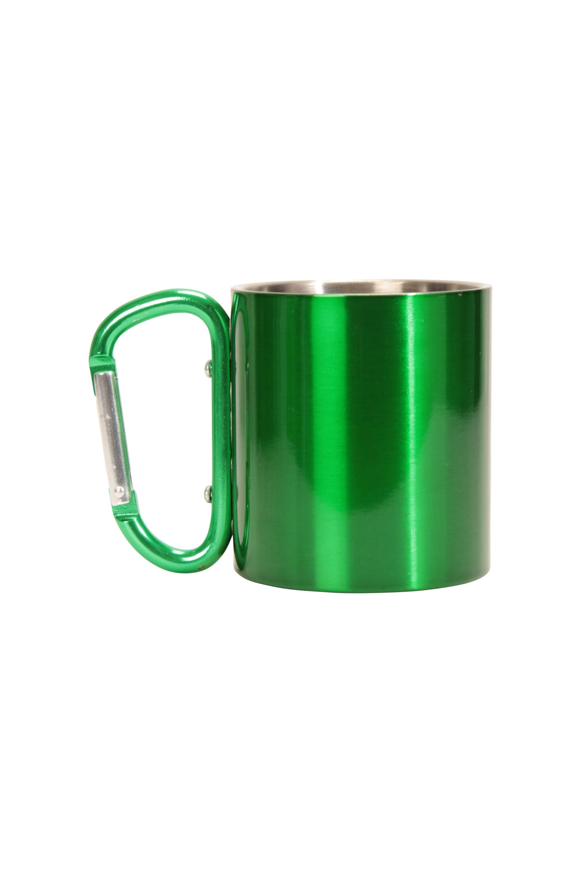 Mug with Karabiner Handle - Green