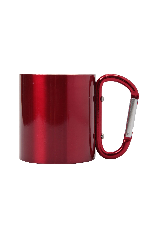 Mug with Karabiner Handle - Pink