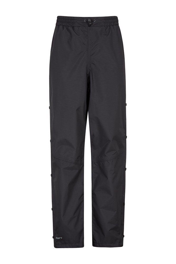 Downpour Womens Waterproof Trousers - Black