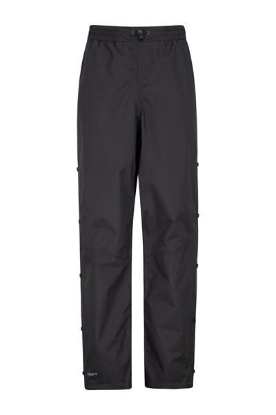 Downpour Womens Waterproof Trousers - Black