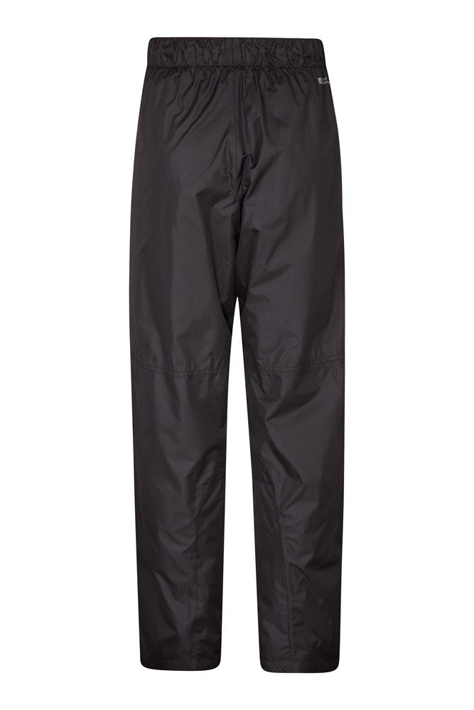Mountain Warehouse Mens Waterproof Overtrousers with Ripstop Fabric /& Mesh Lined