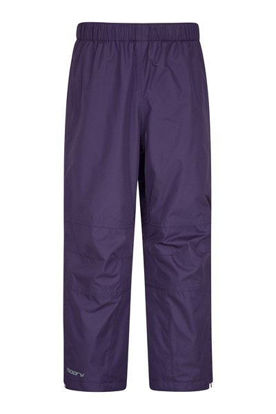 Spray Kids Waterproof Trousers - Purple