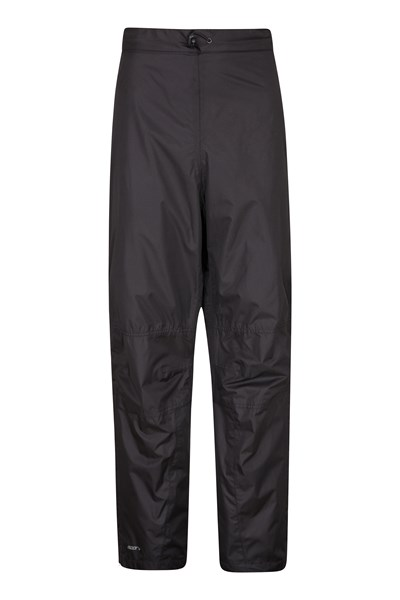 Spray Mens Waterproof Trousers - Short Length - Black
