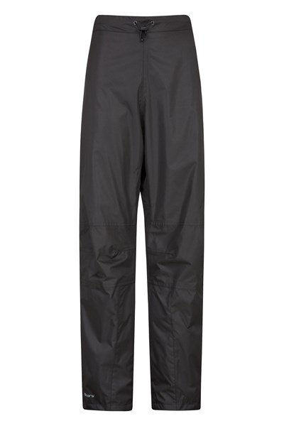 Spray Womens Short Length Waterproof Trousers - Black