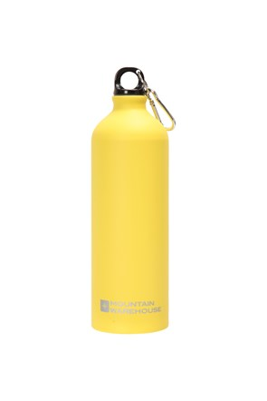 1L Matt Finish Bottle with Karabiner