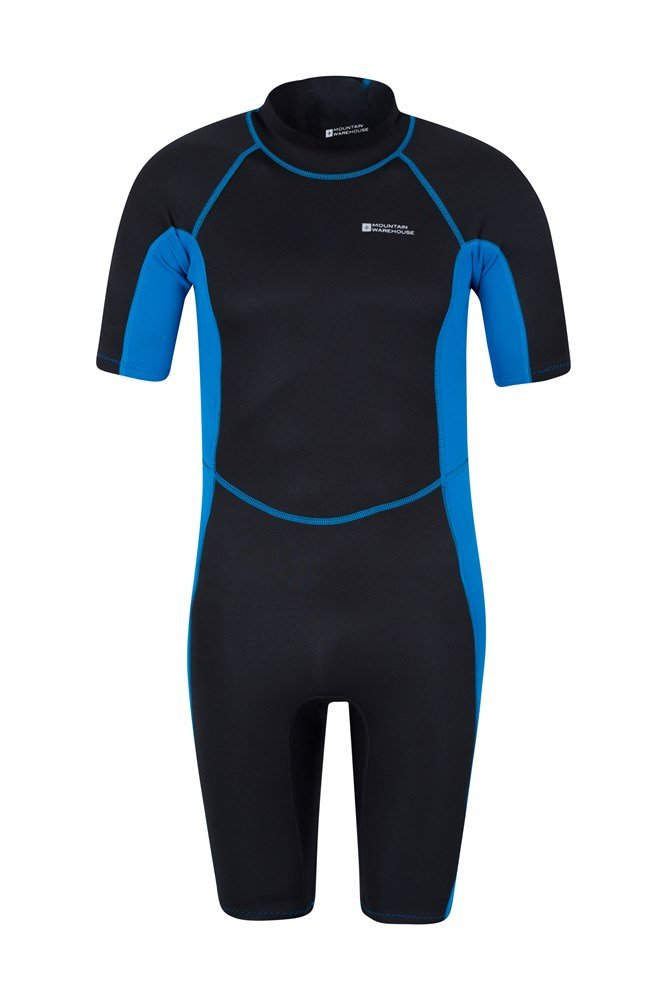 Shorty Mens Wetsuit - Blue